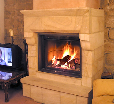 HAWKSTONE FIREPLACE
